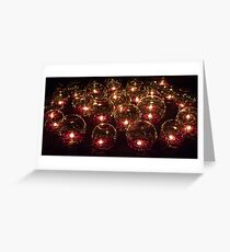 Votive Lights Greeting Card