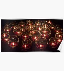 Votive Lights Poster