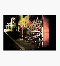 Graffiti Overload Photographic Print