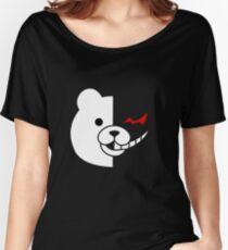 Camiseta ancha para mujer Dangan Ronpa - Monokuma