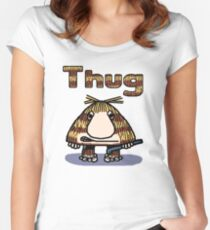 Thug Women's Fitted Scoop T-Shirt
