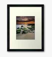 """Alone"" ∞ Shellharbour, NSW - Australia Framed Print"