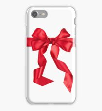 iPHONE RED BOW  iPhone Case/Skin
