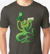 Saint Patrick's Day Iguana Unisex T-Shirt