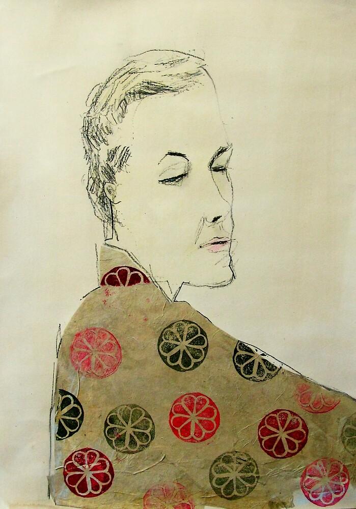clare in kimono by donna malone