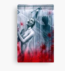 Shower Slasher Canvas Print