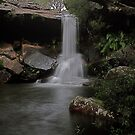 McCarrs Creek Falls Ku-ring-Gai National Park by Andrew  MCKENZIE