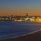 Cronulla Beach Dusk Panorama - Australia by Bryan Freeman