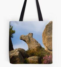 Natural rock formation, Castro Laboreiro, Parque Nacional da Peneda-Geres, Portugal Tote Bag