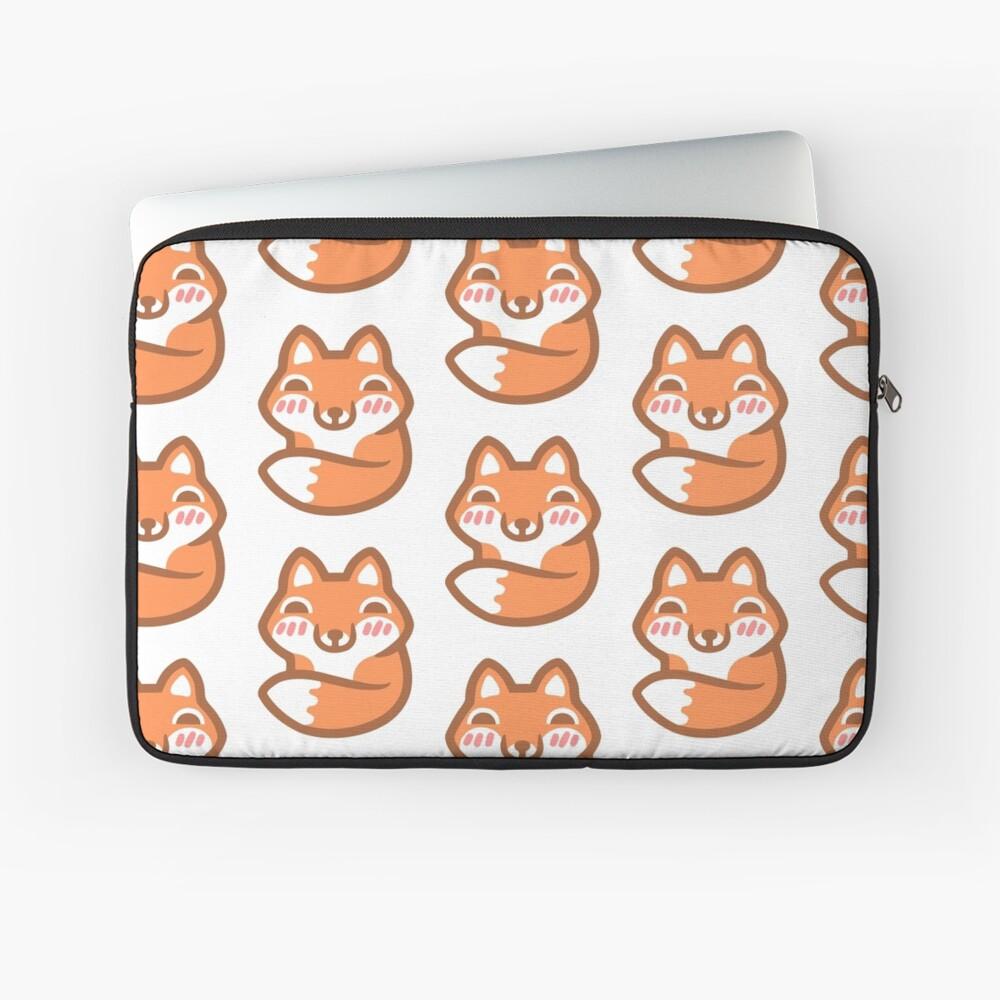 Cute Fox Laptop Sleeve