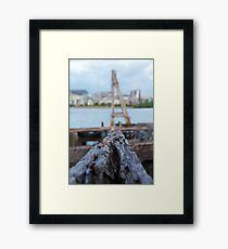 Decrepid - Homebush Bay Framed Print