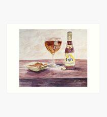 Leffe Blonde Art Print