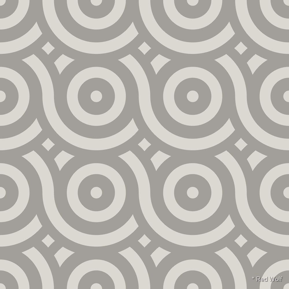 Geometric Pattern: Loop: Portland by * Red Wolf