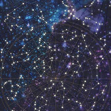 Himmelskarte von MartaOlgaKlara