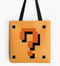 Question Brick Tote Bag