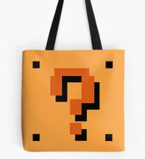 Question Brick Tote Bag