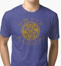 shirt of rassilon -gold Tri-blend T-Shirt