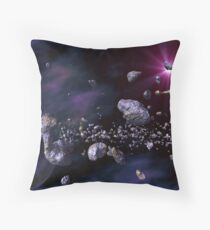 Spider Ship Sighting Throw Pillow