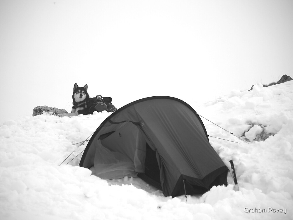 Snowcamp by Graham Povey