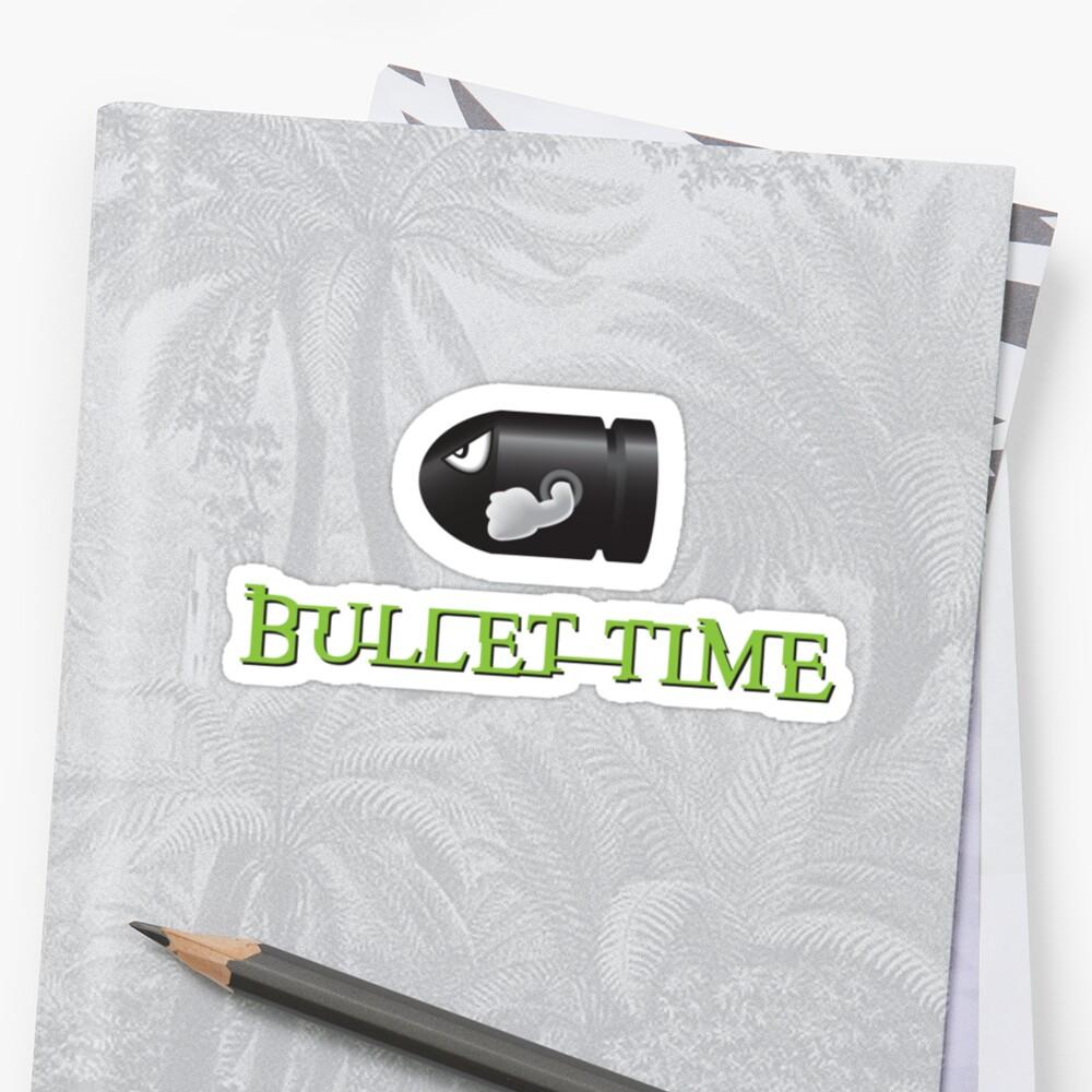 Bullet Time by lifeye