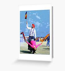 vilage Kila Raipur Mini Olaympics 2012 Greeting Card