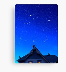 Cygnus the Swan and the Summer Triangle Canvas Print