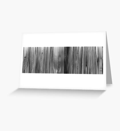 Moviebarcode: Bande à part / Band of Outsiders (1964) Greeting Card