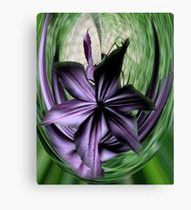 Purple Swoon Canvas Print