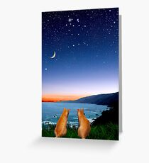 Gemini * The Twins Greeting Card
