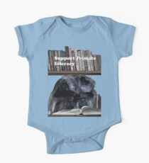 Support Primate Literacy One Piece - Short Sleeve