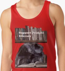 Support Primate Literacy Tank Top