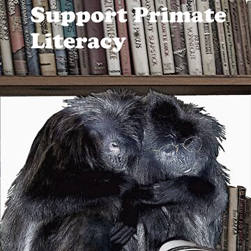Support Primate Literacy by lindabeth