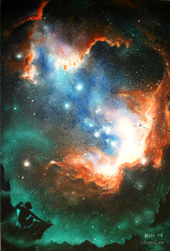 In Search of Endless Worlds: Hominid to Hubble by JamesLee