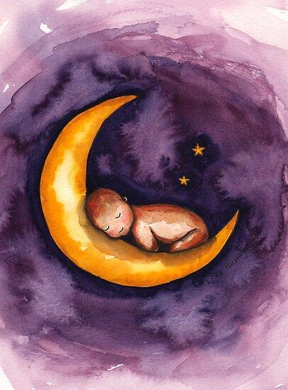 Sleep, Baby, Sleep by Erika  Hastings