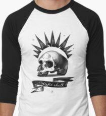 Mistic Schädel Baseballshirt mit 3/4-Arm