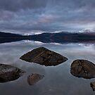 Clatteringshaws Loch by Brian Kerr