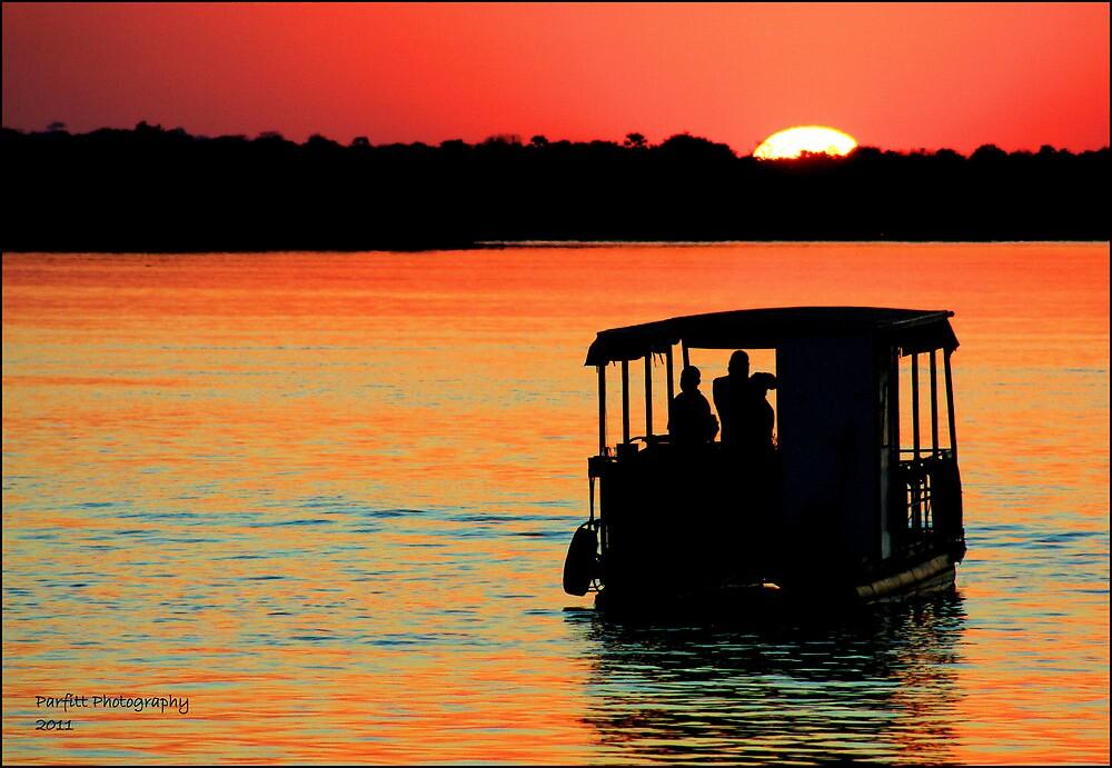 Zambezi Sunset by Greg Parfitt