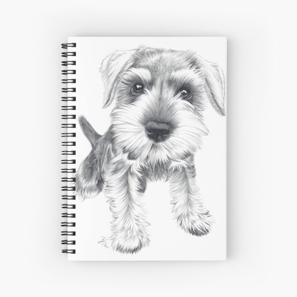 Schnozz Spiral Notebook