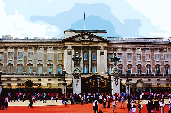Buckingham Palace, London by cycreation