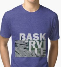 The Hound of the Baskerville Tri-blend T-Shirt