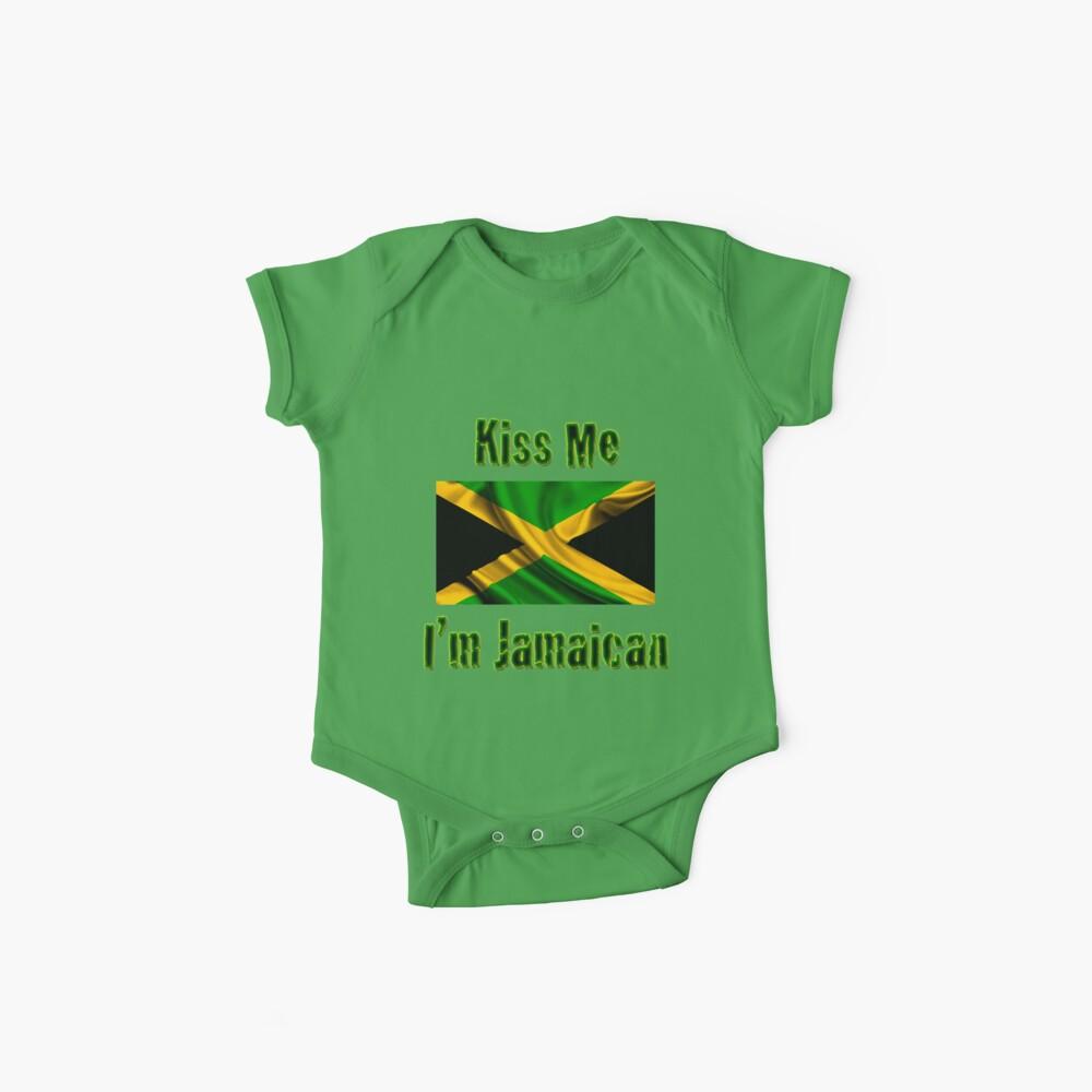 Bésame, soy jamaicano Body para bebé