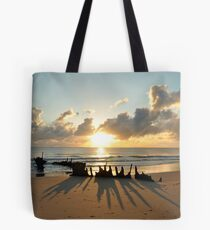 sunrise at ss dicky  Tote Bag