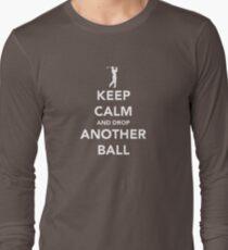 Keep Calm and Golf On Long Sleeve T-Shirt