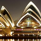 Sydney Opera House by night by Andrew  MCKENZIE