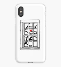 Peering out the Window iPhone Case