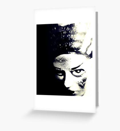 Bride of Frankenstein 1 Greeting Card