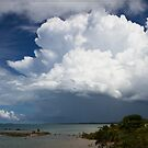 Storm Brewing over the Torres Strait by Chris Cohen