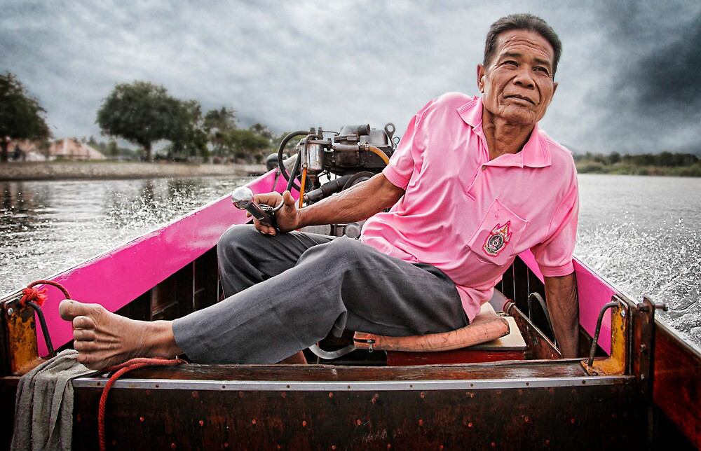 The Boatman by frankc