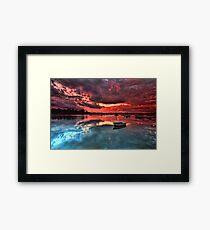 Floating Peacefully Framed Print