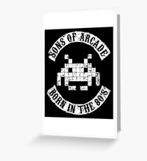 Sons of Arcade Greeting Card